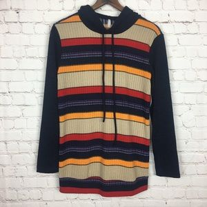 My Story Striped Sweater Small